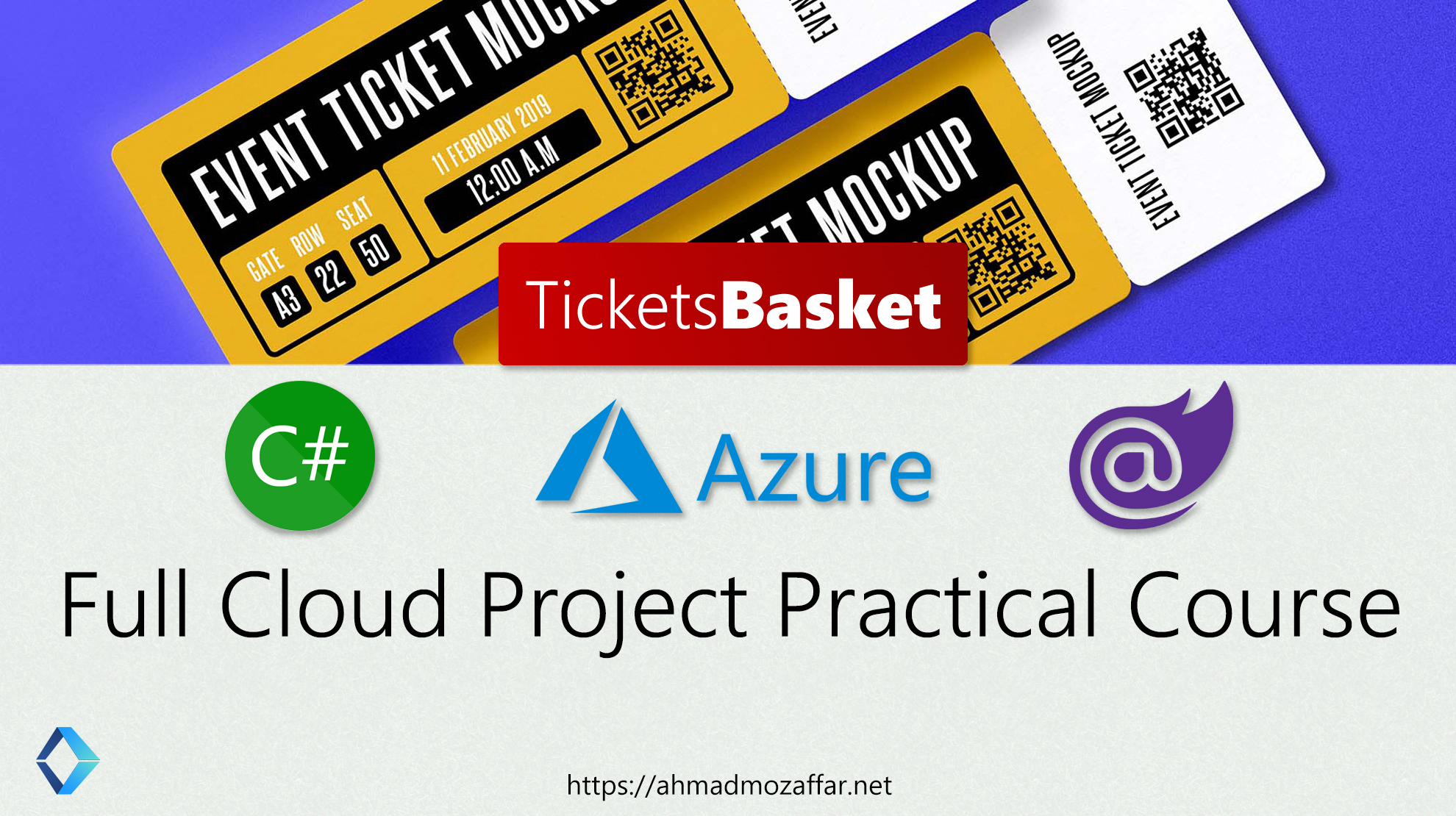 TicketsBasket | Full Cloud Project Practical Course with Azure and .NET Core