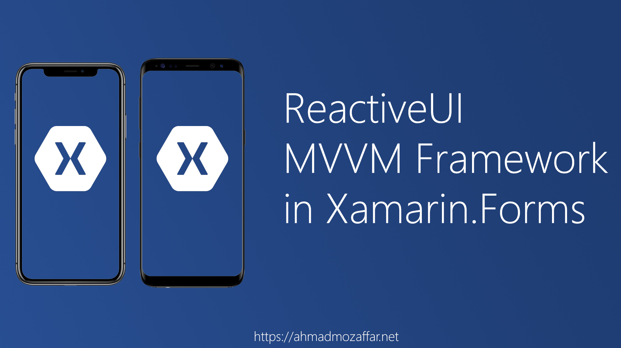 MVVM in Xamarin.Forms with ReactiveUI